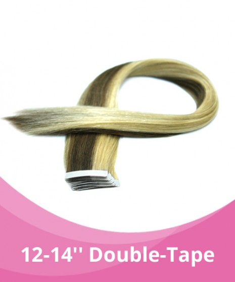 14'' GBB  Double -Tape Extensions - 4pcs per pack