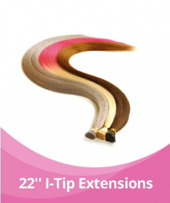 20-22'' GBB Ombre I-Tip Extensions - 25 Strands per pack