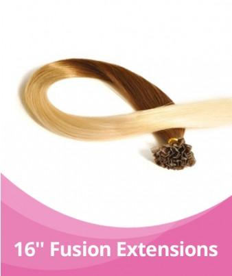16-18'' GBB Ombre Fusion Extensions - 25pcs per pack