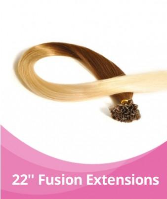 20-22'' GBB Ombre Fusion Extensions - 25pcs per pack